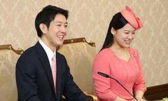 Công chúa Ayako lần đầu giới thiệu hôn phu thường dân