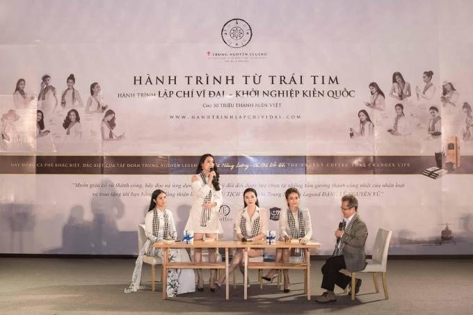 Các Hoa hậu, Á hậu cùng Trung Nguyên Legend tặng 50.000 sách quý đổi đời ở Nha Trang (em xin edit) - 3