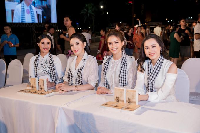 Các Hoa hậu, Á hậu cùng Trung Nguyên Legend tặng 50.000 sách quý đổi đời ở Nha Trang (em xin edit) - 4