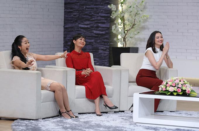 Ốc Thanh Vân và các khách mời cũng bất ngờ với hình ảnh Trấn Thành khi ở nhà.