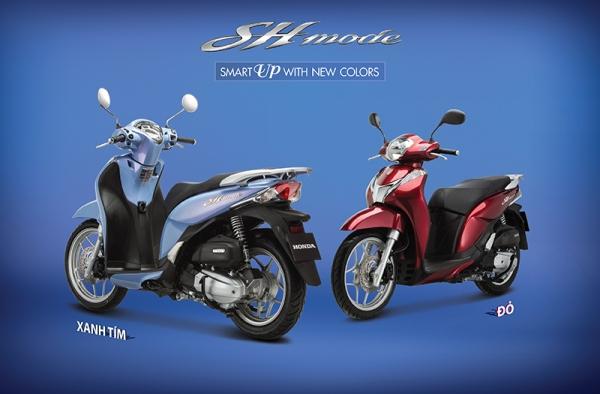 SH Mode 125cc là mẫu xe thứ 3 được Honda Việt Nam trang bị hệ thống khóa thông minh Honda Smart Key.