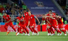 Thắng Colombia ở loạt penalty, Anh vào tứ kết World Cup sau 12 năm