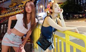 Sao Việt chuộng váy ngắn trong mùa nắng đỉnh điểm