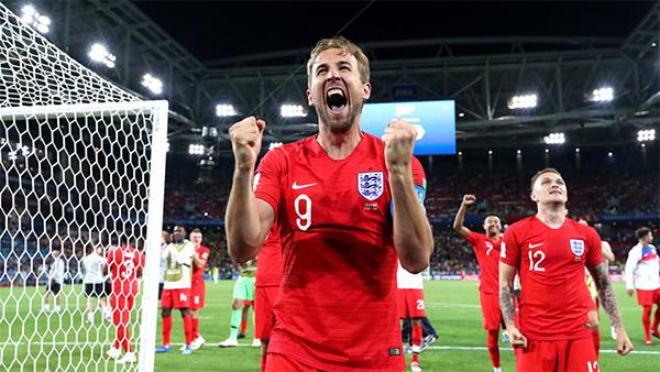 Harry Kane là người thực hiện thành công cú sút penalty đầu tiên của tuyển Anh. Anh cũng là người mở tỷ số cho Tam sưở hiệp hai của trận đấu từ một tình huống 11m. Hiện tại, Kane dẫn đầu danh sách ghi bàn ở World Cup 2018 với 6 pha lập công.