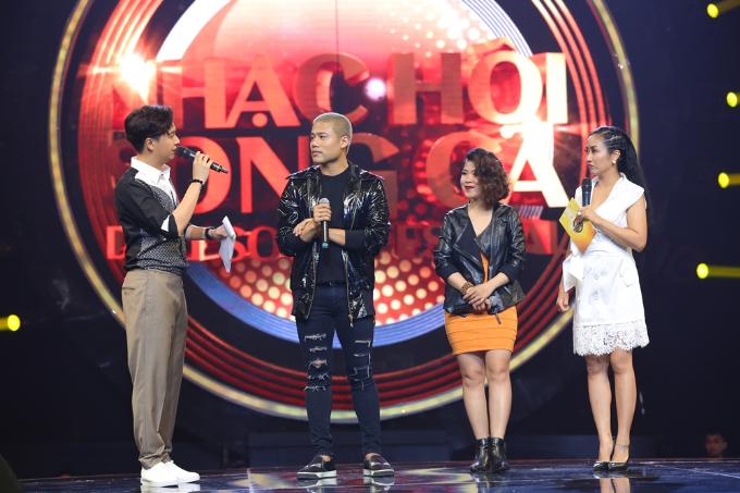 Đội nam ca sĩ Ngọc Minh Idol và Ngân Xa quyết tâm giành vị trí chiếc ghế vàng với bản phối mới lạ ca khúc Thiên đường gọi tên.