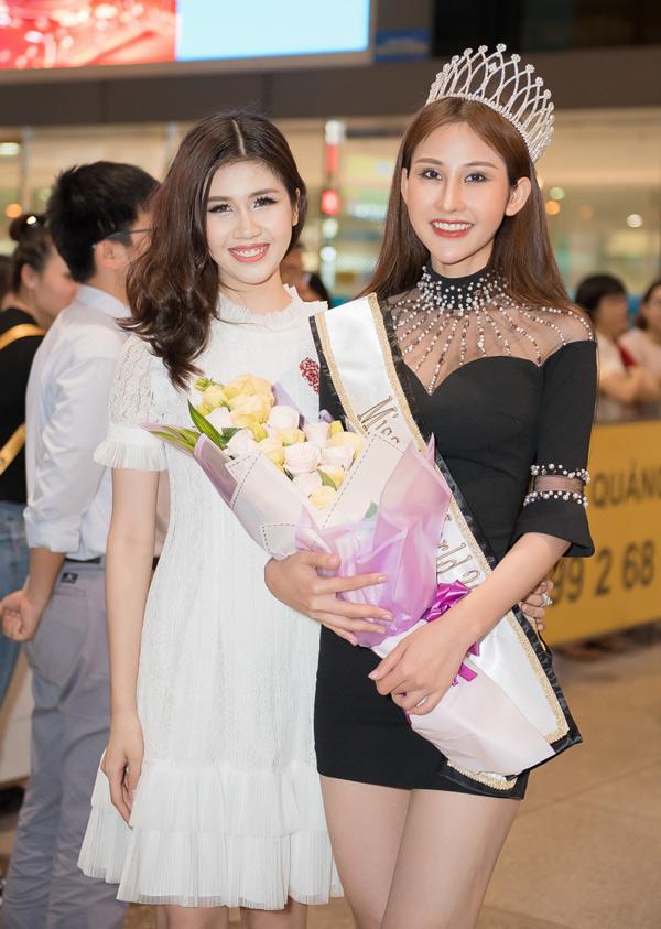 Người mẫuVương Bảo Ngọc là bạn thân trong nghề của Chi Nguyễn.