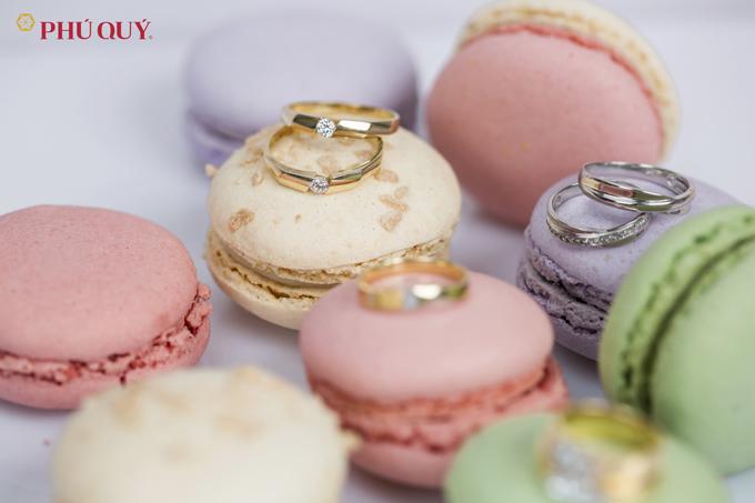 Những mẫu nhẫn cướiđược thiết kế tinh tế, thanh lịch từ vàng 10k,14k,18k kết hợp cùng đá CZ quý giá.