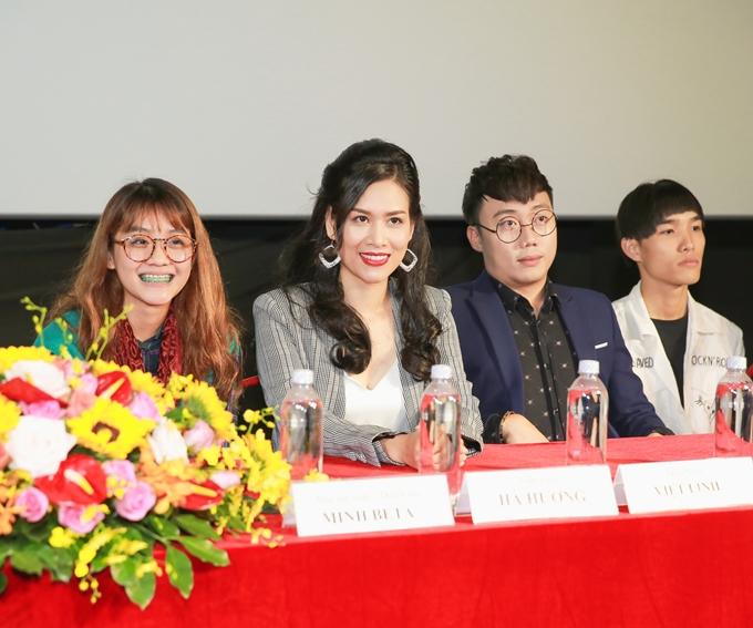 Hà Hương hào hứng lần đầu đóng phim điện ảnh dù là vai nhỏ - 1