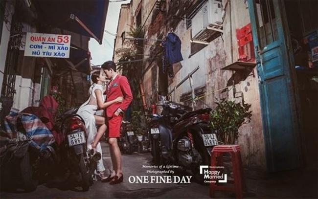 Ảnh cưới tại Đà Nẵng, Sài Gòn của cặp đôi nàng 45, chàng 26 xứ Hàn - 4