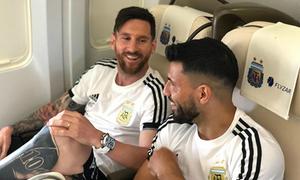 Chỉ có một cầu thủ Argentina lên máy bay về nước sau thất bại tại World Cup 2018