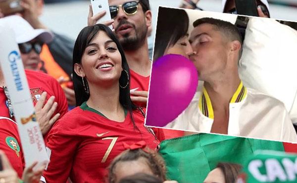 C. Ronaldo thoải mái chờ thông tin về tương lai. Ảnh: NS.