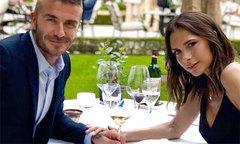 Becks - Vic uống rượu đắt tiền kỷ niệm 19 năm đám cưới