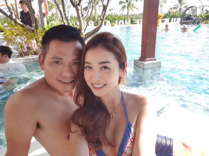 Ông xã thiết kế dây chuyền kim cương tặng sinh nhật Jennifer Phạm - 8