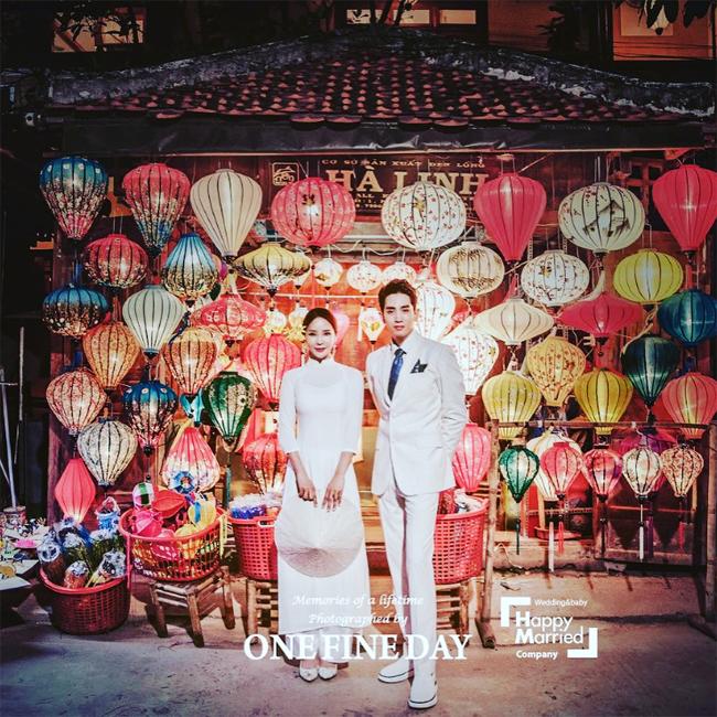 Ảnh cưới tại Đà Nẵng, Sài Gòn của cặp đôi nàng 45, chàng 26 xứ Hàn - 2