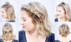5 cách tạo kiểu nhanh gọn cho mái tóc ngắn bớt nhàm chán
