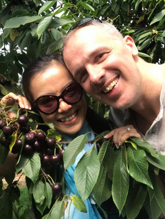 Lý Thanh Thảo đang tận hưởng những ngày hạnh phúc bên chồng Tây ở Hà Lan.