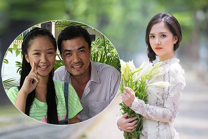 Đỗ Hà Anh sinh năm 1997, đóng vai Hoài Anh - con gái của Chí Kiên - trong phim Bánh đúc có xương.
