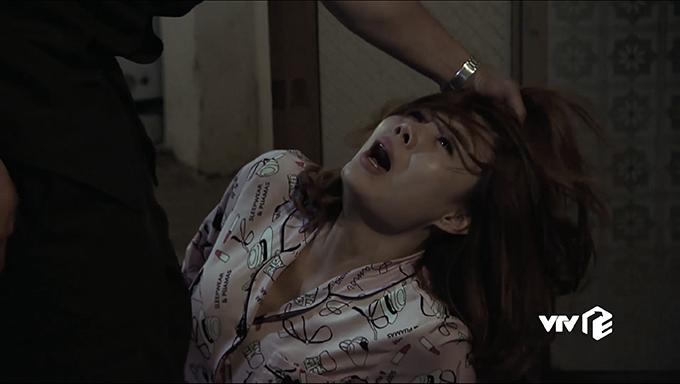 Thanh Hương vào vai Lan, một cave hết đát bị hành hạ dã man ở tập 5.