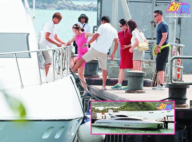 Du thuyền cao cấp của vợ chồng Lý Mỹ Tuệ có khoảng 4 phòng ngủ chính, dài khoảng hơn 30m.