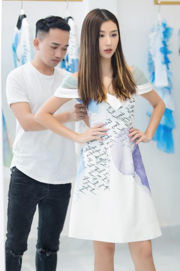 Kỳ Duyên mặc áo rộng, Quỳnh Anh Shyn khoe eo thon khi đi thử đồ - 8
