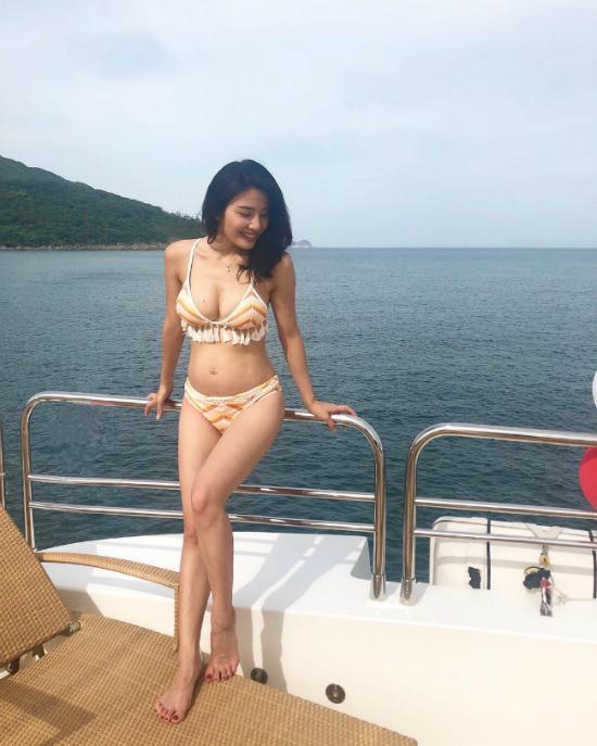Lâm Thiên Dư chuẩn bị bước vào tam cá nguyệt thứ ba.