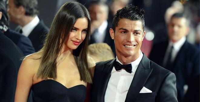 Irina vàCristiano Ronaldo từng là một cặp chân dài - cầu thủ nổi tiếng của làng giải trí.