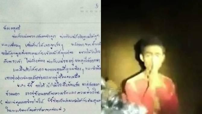 Thư gia đình gửi đội bóng Thái kẹt trong hang - Bố mẹ chờ được thấy mặt con - 1