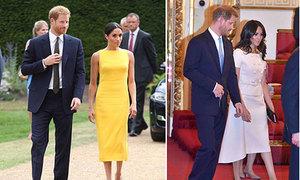 Meghan lần đầu phá vỡ phong cách quen thuộc từ khi làm dâu hoàng gia Anh