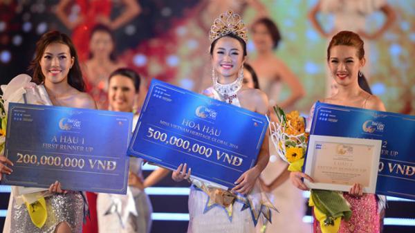 Dàn Hoa hậu, Á hậu Miss Vietnam Heritage Global 2016 với giải thưởng hấp dẫn.