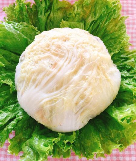 Cải thảo cuộn thịt hấp ngọt ngon - 2