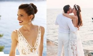 Những kiểu tóc dành cho cô dâu tổ chức đám cưới ở biển