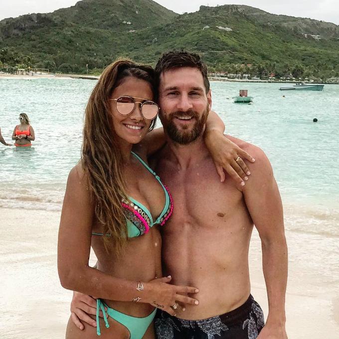 Những kỳ nghỉ cả nhà đi đâu cũng có nhau của Messi khi rảnh rỗi - 9