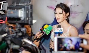 Huyền My 'ngộp thở' khi được truyền thông Myanmar săn đón