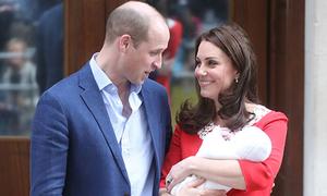 Kate không chọn vợ chồng Meghan làm cha mẹ đỡ đầu cho con trai mới sinh
