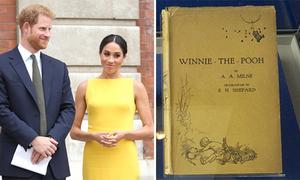 Harry chi hơn 10.000 USD mua sách mừng lễ rửa tội của cháu trai