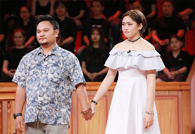 Vợ chồng Vinh Râu - Lương Minh Trang trong Phiên tòa tình yêu