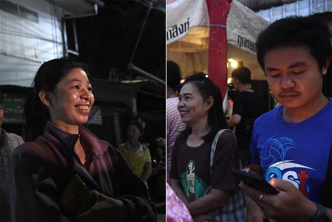 Sau nhiều ngày theo dõi diễn biến của vụ việc qua tivi, điện thoại và máy tính, những người dân Thái đều như vỡ òa khi ngày giải cứu cuối cùng đã kết thúc. Họ liên tục chia sẻ niềm vui trên các phương tiện truyền thông xã hội suốt vài giờ qua.