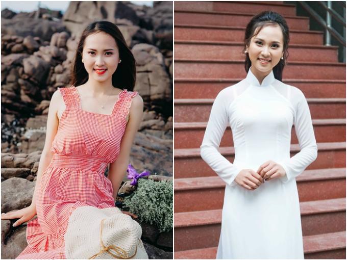 Ngô Thị Diệu Ngân, sinh năm 2000, đến từ Nghệ An vàtừng đạt giải nhất Hội thi Thanh niên Thanh lịch huyện Diễn Châu 2017.