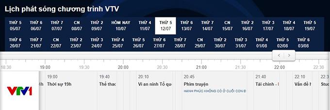 Quỳnh búp bê biến mất khỏi lịch phát sóng của VTV1.