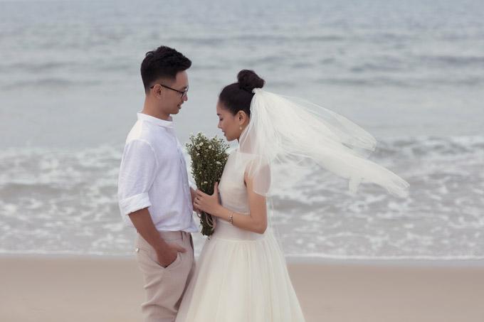 Ảnh cưới của Hoàng Quyên và chồng kiến trúc sư - 1