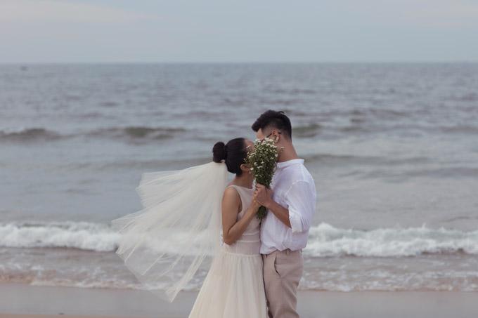 Ảnh cưới của Hoàng Quyên và chồng kiến trúc sư - 5