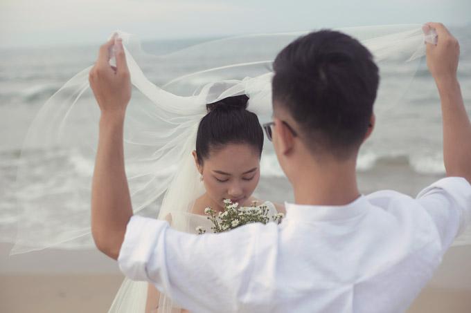 Ảnh cưới của Hoàng Quyên và chồng kiến trúc sư - 8