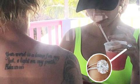 Nhẫn cầu hôn của Justin Bieber giống với nhẫn Blake Lively chỉ vì một dòng tweet