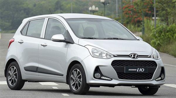 Hyundai i10 bán chạy nhất Việt Nam tháng 6