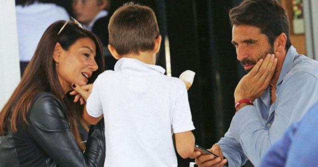 Cậu nhóc Leopoldo Mattia là con chung của cặp đôi.