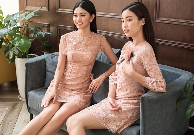 Đỗ Mỹ Linh, Thanh Tú khoe sắc cùng váy ren - 9