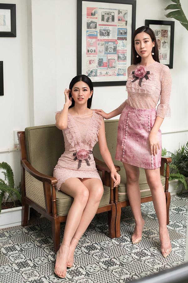 Đỗ Mỹ Linh, Thanh Tú khoe sắc cùng váy ren - 2