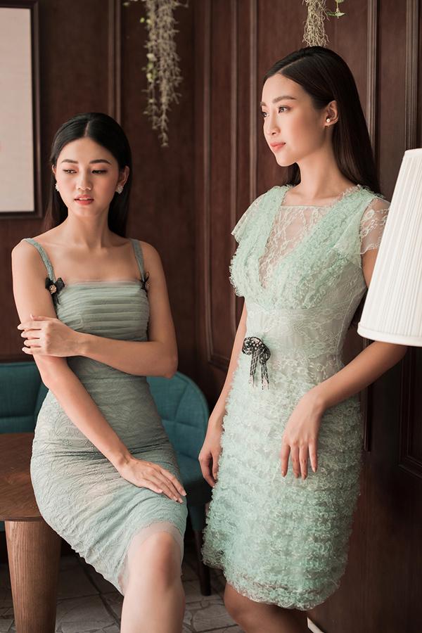 Đỗ Mỹ Linh, Thanh Tú khoe sắc cùng váy ren - 6