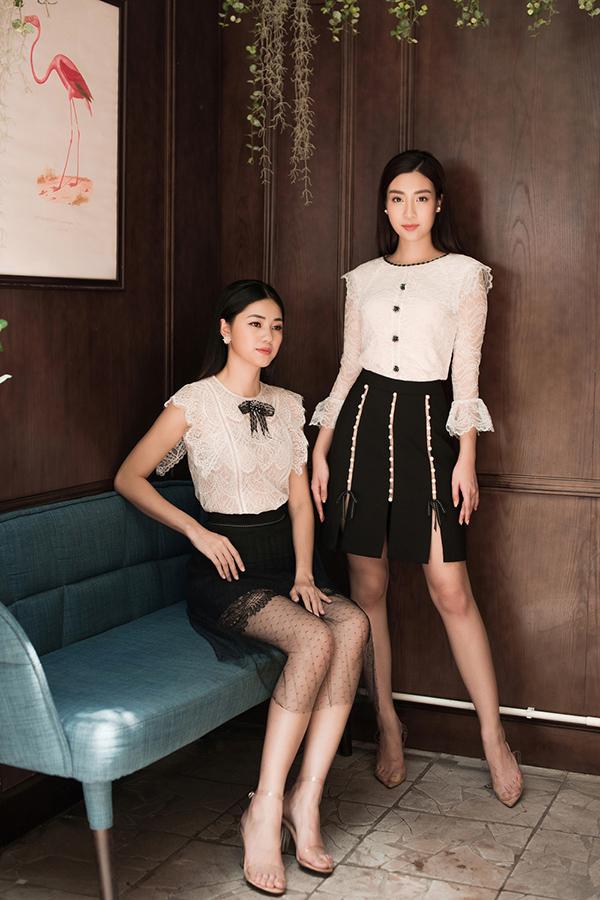Đỗ Mỹ Linh, Thanh Tú khoe sắc cùng váy ren - 7