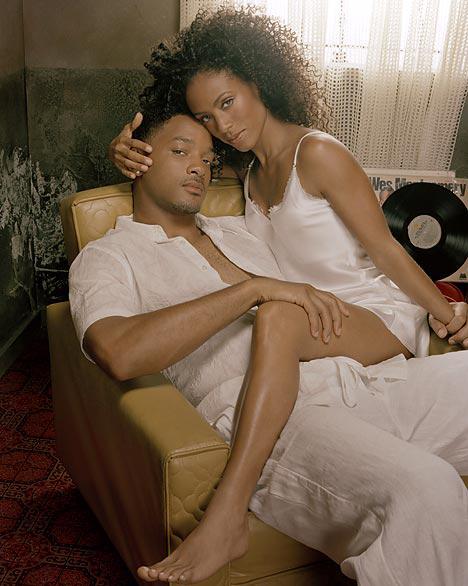 Jada và Will Smith thời trẻ.